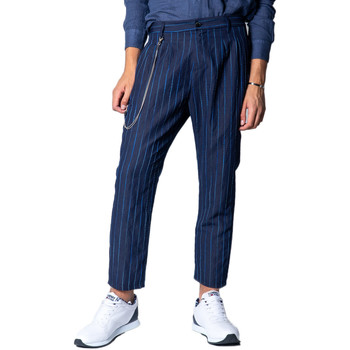 textil Hombre pantalones chinos Imperial PB51ZAB Blu