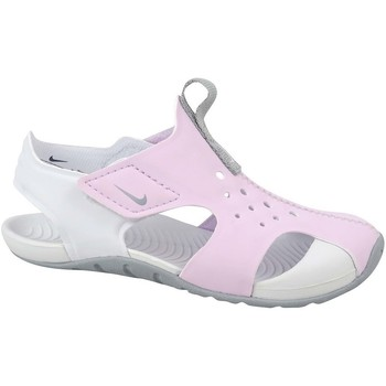 Zapatos Niños Zapatillas bajas Nike Sunray Protect 2 PS Blanco,Rosa