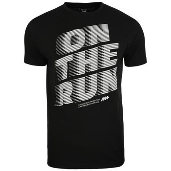 textil Hombre camisetas manga corta Monotox ON The Run Negros
