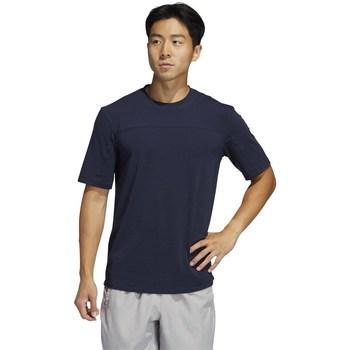 textil Hombre Camisetas manga corta adidas Originals City Base Negros, Azul marino