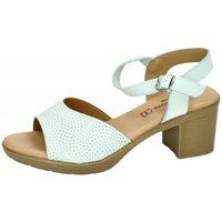Zapatos Mujer Sandalias Fanny Valero Sandalia blanco Blanco