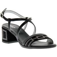 Zapatos Mujer Sandalias Nero Giardini NERO GIARDINI  100 VELOUR NERO Nero