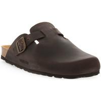 Zapatos Hombre Zuecos (Clogs) Grunland MARRONE 40 SARA Marrone