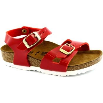 Zapatos Niños Sandalias Birkenstock BIR-RRR1005888-RE Rosso