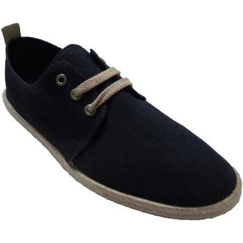 Zapatos Hombre Pantuflas Calzamur Zapatillas hombre cordones borde cáñamo azul