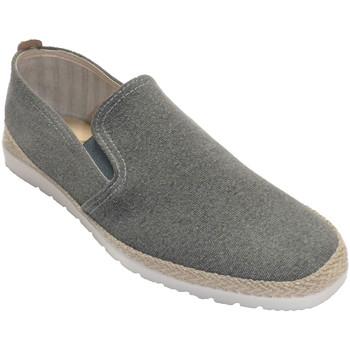 Zapatos Hombre Pantuflas Calzamur Zapatilla hombre borde cáñamo plantilla gris