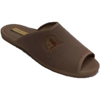 Zapatos Hombre Pantuflas Aguas Nuevas Chanclas verano hombre abiertas punta y beige