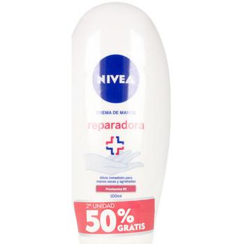 Belleza Mujer Cuidados manos & pies Nivea Repara & Cuida Crema Manos Lote  2 x 100 ml
