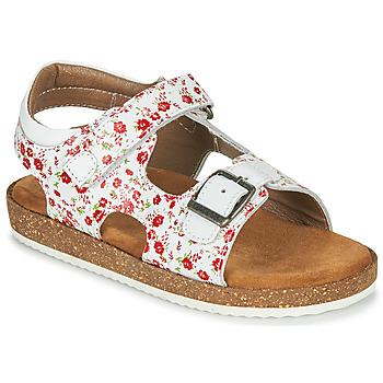 Zapatos Niña Sandalias Kickers FUNKYO Blanco