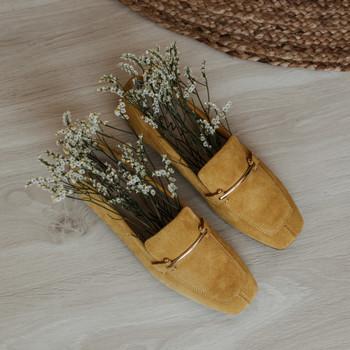 Zapatos Mujer Mocasín Vienty JENNY Amarillo