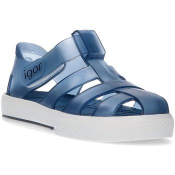Zapatos Niño Sandalias IGOR CANGREJERA DE AGUA AZUL