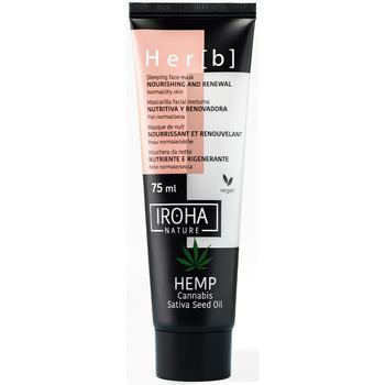Belleza Mascarillas & exfoliantes Iroha Sleeping Mask - HEMP - Nutritiva & Renovadora