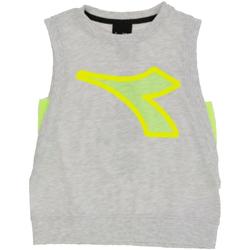 textil Niño Camisetas sin mangas Diadora - T-shirt grigio 022785-107 GRIGIO