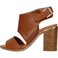Zapatos Mujer Zapatos para el agua Keys - Sandalo cuoio K-1981 MARRONE