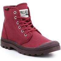Zapatos Hombre Zapatillas altas Palladium Manufacture Pampa HI Oryginale 75349-604-M borgoña
