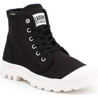 Zapatos Hombre Zapatillas altas Palladium Manufacture Pampa HI Originale 75349-016-M negro
