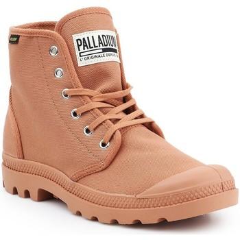 Zapatos Hombre Zapatillas altas Palladium Manufacture Pampa HI Originale 75349-225-M marrón