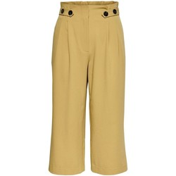 textil Mujer Pantalones cortos Only ONLTHEIA JOURNEY LIFE CULOTTE Beige
