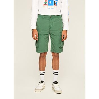 textil Hombre Shorts / Bermudas Pepe jeans SHORT  JOURNEY Azul