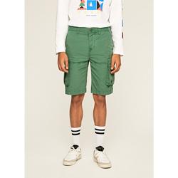 textil Hombre Shorts / Bermudas Pepe jeans SHORT  JOURNEY Verde