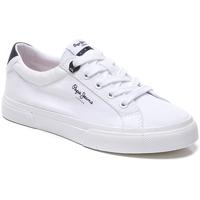 Zapatos Niños Zapatillas bajas Pepe jeans ZAPATILLA  KENTON BASIC BOYS Blanco