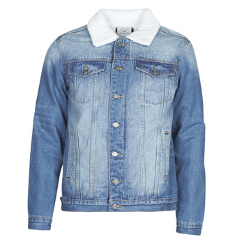textil Hombre Chaquetas denim Casual Attitude NOARO Azul / Medium