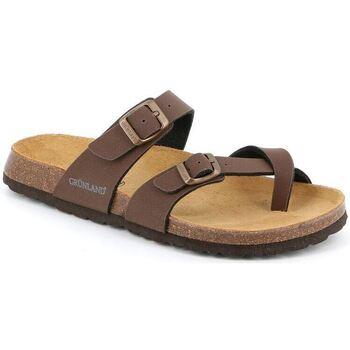 Zapatos Hombre Chanclas Grunland DSG-CB1561 MOGANO