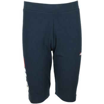textil Niña leggings Fila Tammy Short Leggings Kids Azul