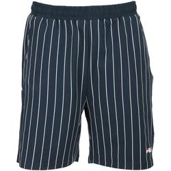 textil Niño Shorts / Bermudas Fila Tamara AOP Kids Azul