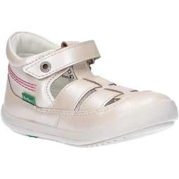 Zapatos Niña Sandalias Kickers 784272-10 KITS Hueso