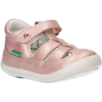 Zapatos Niña Sandalias Kickers 784272-10 KITS Beige