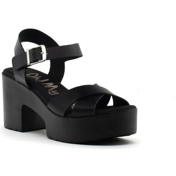Zapatos Mujer Sandalias Oh My Sandals 4734 Negro