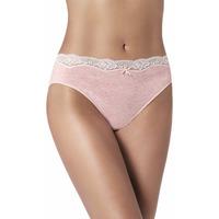 Ropa interior Mujer Braguitas Janira Bragas Brislip Cream Cherry Pack-2 RoseBeig