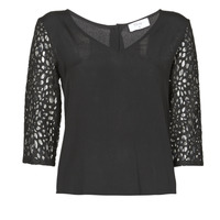 textil Mujer Tops / Blusas Betty London NIXE Negro
