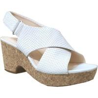 Zapatos Mujer Sandalias Clarks Maritsa lara Cuero crudo