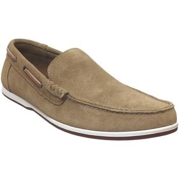 Zapatos Hombre Mocasín Clarks Morven sun Terciopelo beige