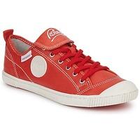 Zapatos Mujer Zapatillas bajas Pataugas BROOKS Rojo