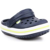 Zapatos Niños Zuecos (Clogs) Crocs Crocband Clog K 204537-42K azul marino