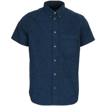 textil Hombre camisas manga corta Paul Smith Jeans SS classic fit shirt Azul