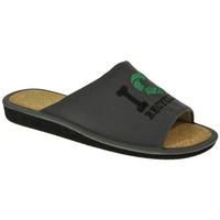 Zapatos Hombre Pantuflas Garzon 394 Gris