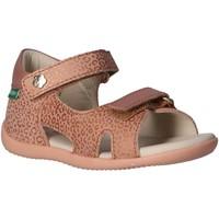Zapatos Niños Sandalias de deporte Kickers 696354-10 BINSIA-2 Rosa