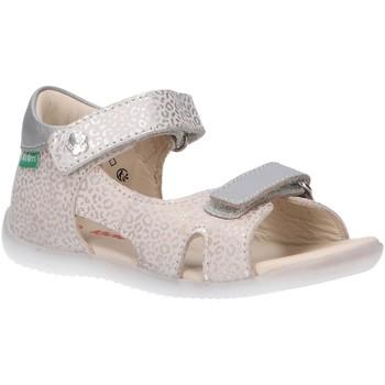 Zapatos Niños Sandalias de deporte Kickers 696354-10 BINSIA-2 Blanco