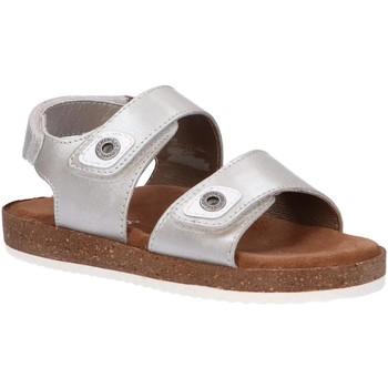 Zapatos Niña Sandalias Kickers 694902-30 FIRST Plateado