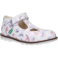 Zapatos Niña Derbie & Richelieu Kickers 608478-10 NONOCCHI Blanco