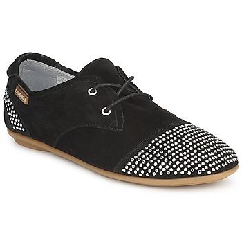 Zapatos Mujer Derbie Pataugas SWING Negro