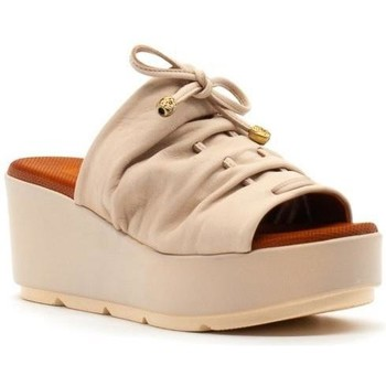 Zapatos Mujer Zuecos (Mules) Baboos 20SS25.12 Beige