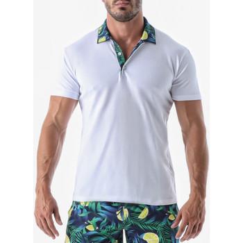 textil Hombre camisetas manga corta Geronimo Camiseta de manga corta Fruits Verde Oscuro