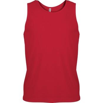 textil Hombre Camisetas sin mangas Proact Débardeur  Sport rouge