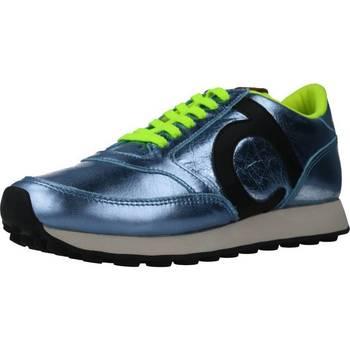 Zapatos Mujer Deportivas Moda Duuo PRISA KID LACE 033 Azul