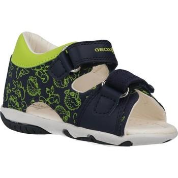 Zapatos Niño Sandalias Geox B SANDAL ELBA BOY Azul